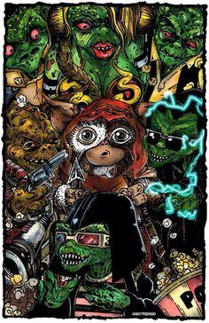 Gremlin Yodas by Nick Borkowicz.