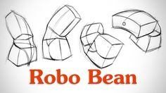 How to Draw Structure in the Body - Robo Bean l Check out all of Proko's Tutorials, they are excellent.