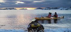 Kayaking in Lofoten, Norway