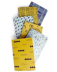 Oh So Beautiful Paper: Quick Pick: Cotton & Flax Notebooks