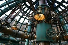 Jules Verne – Lit and Scribbles with Jae Steampunk Ship, Steampunk House, Steampunk Design, Steampunk Interior, The Golden Compass, Leagues Under The Sea, Tokyo Disney Sea, Parking Design, Cyberpunk Art