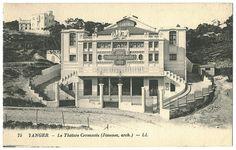 TANGER (Tandja)_Théâtre Cervantes_Lévy & Neurdein; 75 by Performing Arts / Artes Escénicas, via Flickr