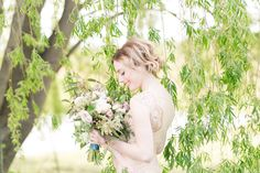 Natural Outdoor Styled Shoot on Borrowed & Blue.  Photo Credit: M. Cave Photography
