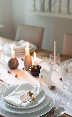 wunderschön-gemacht: herbstlaubgoldiges dinner im wald