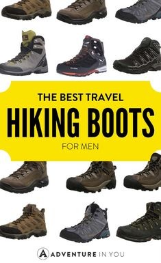 Hiking Boots | Looking for the best hiking boots for men? Here's our complete guide on how to choose them and our top picks of the best brands