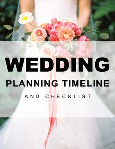 yourfairytaleawaits.com: The Ultimate Wedding Planning Timeline and Checklist