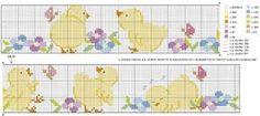 Risultati immagini per schemi punto croce gratis lenzuolini
