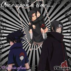Sasuke & Itachi///Blingee by: 10-daira-efron