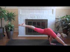Yoga online with Corrina Richards. http://benourishedhhc.com/ Learn how to transition into and out of Eka Pada Koundinyasana II. Yoga Teacher, Corrina Richar...