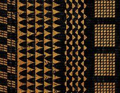 Kapa patterns and prints recreated digitally, as an exploration of the ancient Hawaiian artform. Polynesian Tattoo Meanings, Polynesian Tattoos Women, Polynesian Art, Hawaiian Crafts, Hawaiian Art, Hawaiian Tattoo, Hawaiian Decor, Vintage Hawaiian, Hawaiianisches Tattoo