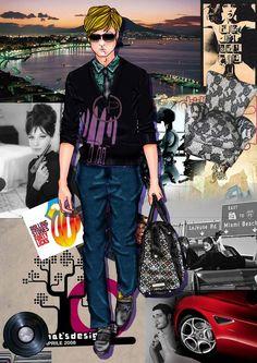 Fashion Illustration MPF. #voguemagazine #mpfisme #moda #madeinitaly #couturedress #vogue #fashionstyle #fashionblogger #fashionillustration #fashionista #man #denim