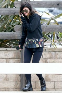 Kylie Jenner in Calabasas, California – February 2014