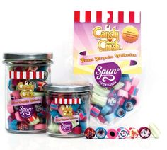 Candy Crush Candy Collection http://www.spun-candy.com/