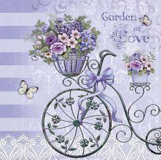 Сиреневые цветы для декупажа. Обсуждение на LiveInternet - Российский Сервис Онлайн-Дневников