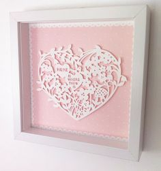 Katie Elliott Designs: NEW Woodland Paper Cut Frames!