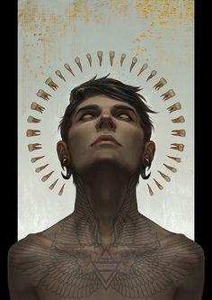 Revelation by Magdalena Pagowska #digital #illustration #dark #fantasy