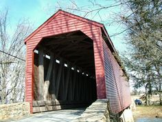 Loy's Station Covered Bridge  Frederick County, Maryland