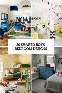 Boys Room Design 16 clever ways to fit three kids in one bedroom | boys bedroom