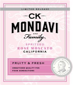 Make Me Blush with New Spritzed Rosé Moscato