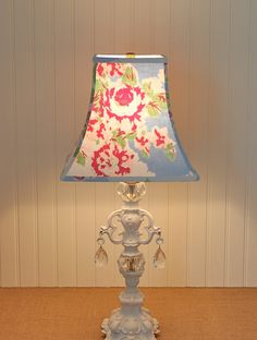 Cottage Floral Lampshade by Sassyshades on Etsy