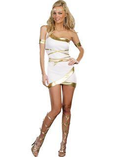 Adult Worship Me Goddess Costume ($29.99) - Party City ONLINE   Roman