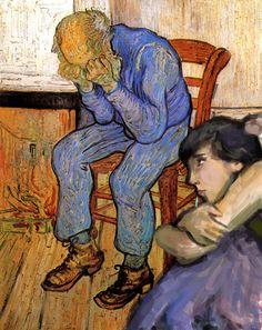 Última intervención en cuadro de van Gogh. No llores...
