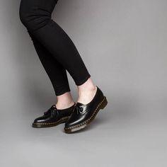 dr. martens siano black - sapatos dr. martens