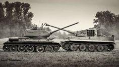 "T-34 and Panzerkampf VI ""Tiger"""