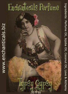 Typsy Gypsy  Perfume Oil  33 fl oz Roll On by EnchanticalsPerfume