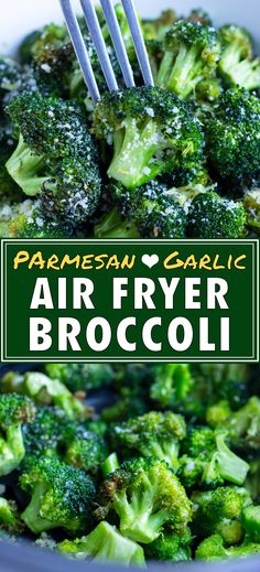 Crispy Air Fryer Broccoli Recipe (Ready in 10 Minutes!) - Evolving Table
