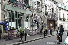 Paris Back Street - Download From Over 26 Million High Quality Stock Photos, Images, Vectors. Sign up for FREE today. Image: 40912988