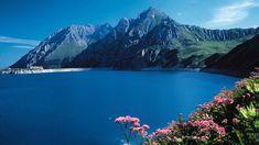 Lünersee Austria, Bergen, Baumgarten, Homeland, Germany, River, Mountains, Places, Outdoor