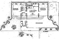 Small Earth Sheltered Home Plans