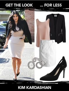 Get the Look: Kim Kardashian West