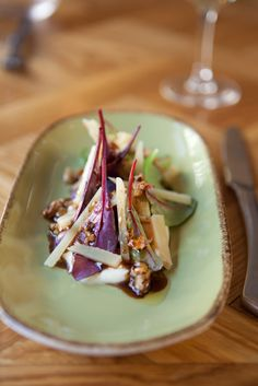 Manchego salad with beetroot and apple @ Ibérica Restaurants