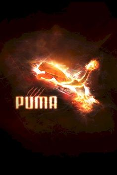 Puma on Fire Shoes Heels Boots, Heeled Boots, Brand Names, Neon Signs, Fire, Wallpapers, Iphone, High Heel Boots, High Heel Boots