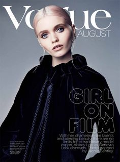Abbey Lee Kershaw Is Striking in Vogue Australia's August Cover Shoot by Nicole Bentley Abbey Lee Kershaw, Vogue Magazine Covers, Vogue Covers, Vogue Australia, Fashion Cover, Love Fashion, Fashion Models, Naomi Smith, Cover Shoot