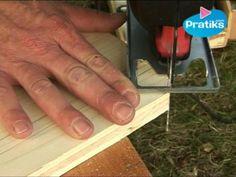 Comment faire une coupe arrondie avec une scie sauteuse. Ebénisterie menuiserie