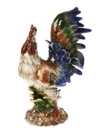 "18"" Fiesta Rooster Figurine, Main View"