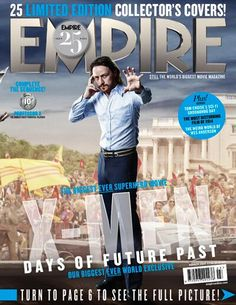 X-Men: Days of Future Past' Character Covers- Young Professor X