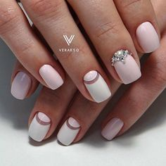 Sweet  and gentle manicure