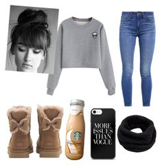 """Untitled #14"" by mascaraholic on Polyvore featuring UGG, Helmut Lang and Levi's"