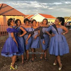 Shweshwe is widely used in southern Africa to make dresses, skirts, aprons and wraparound clothing. Shweshwe dresses are used by all men and women of all ethnic