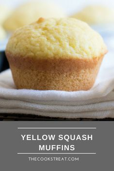 These are the best yellow squash muffins! Our family has been making these for years with summer squash from our garden. Yellow Squash Muffins, Yellow Squash Casserole, Yellow Squash Recipes, Summer Squash Recipes, Yellow Squash Bread Recipe, Canning Yellow Squash, Muffin Recipes, Baking Recipes, Dessert Recipes