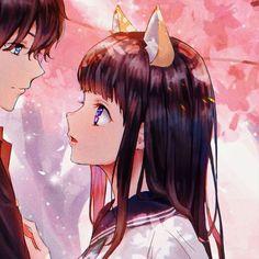 join the discord server for more icons ! <3 Anime Fnaf, Anime Neko, Kawaii Anime, Anime Art, Anime Couples Drawings, Cute Anime Couples, Anime Love, Anime Guys, Cute Galaxy Wallpaper
