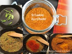 Sri lankan Curry Powder recipe: Ok - Sri Lanka it is, friends, the last country for my virtual tour this year!