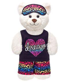 Rainbow Leopard-Print PJs 3 pc. | Build-A-Bear