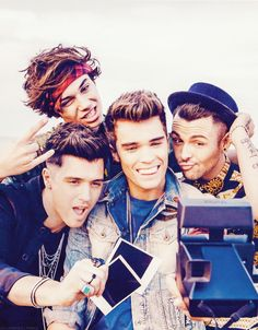 I'm not stressed, depressed or boy-band obsessed, but their music is pretty good.