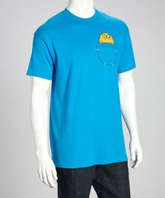 Turquoise Jake in Pocket Tee - Young Adult by Changes on #zulily today! $12