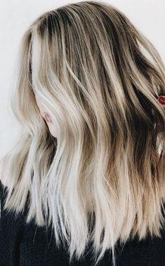 blonde balayage long bob hair | haircut ideas